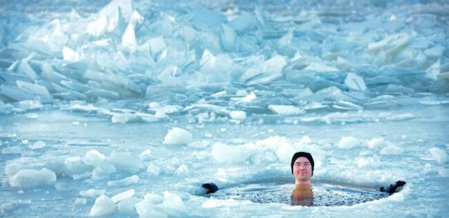 Take an ice bath