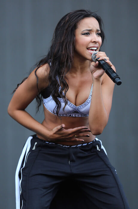 Tinashe performs on day 2 of the New Look Wireless Festival at Finsbury Park on July 4, 2015 in London, England