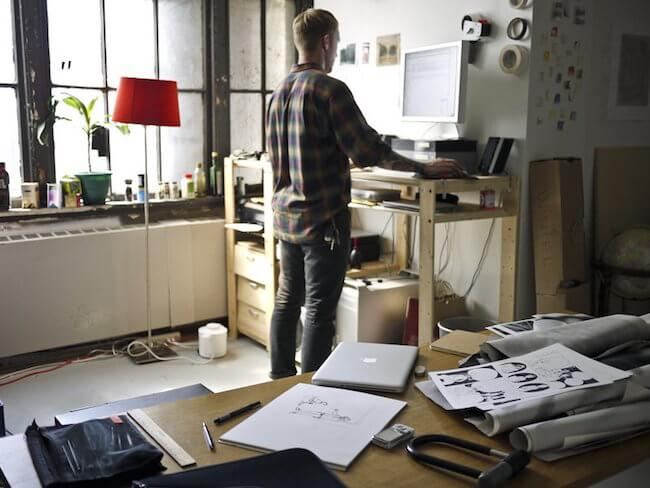 Tweak your workspace for your back