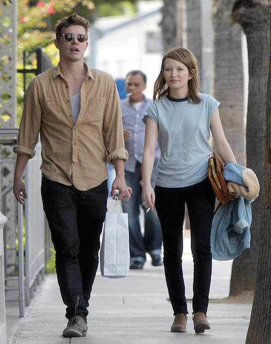 Xavier Samuel and his ex-girlfriend Emily Browning