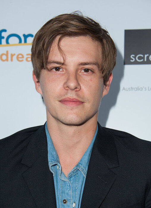 Xavier Samuel arrives at the Australians In Film's Heath Ledger Scholarship Dinner at SLS Hotel on June 12, 2014 in Beverly Hills, California
