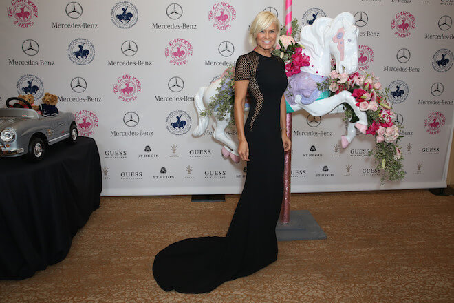 Yolanda Foster during Mercedes-Benz's 'Carousel of Hope Ball' on October 11, 2014
