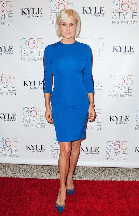 Yolanda Foster at Nicky Hilton's '365 Style?' on October 21, 2014