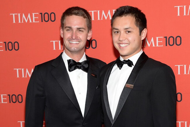 The World's Youngest Billionaires of 2015 by Forbes.