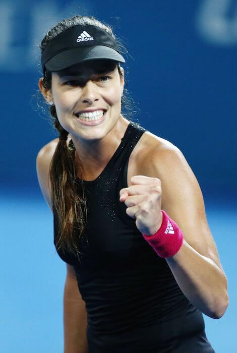 Ana Ivanovic during 2015 Brisbane International - Quarter Final