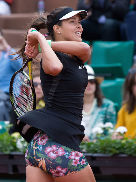 Ana Ivanovic during Roland Garros 2015