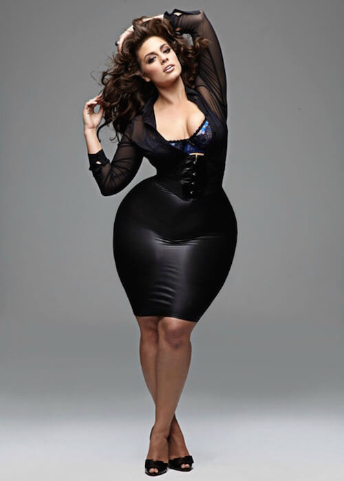 Ashley Graham, Plus Sized Model