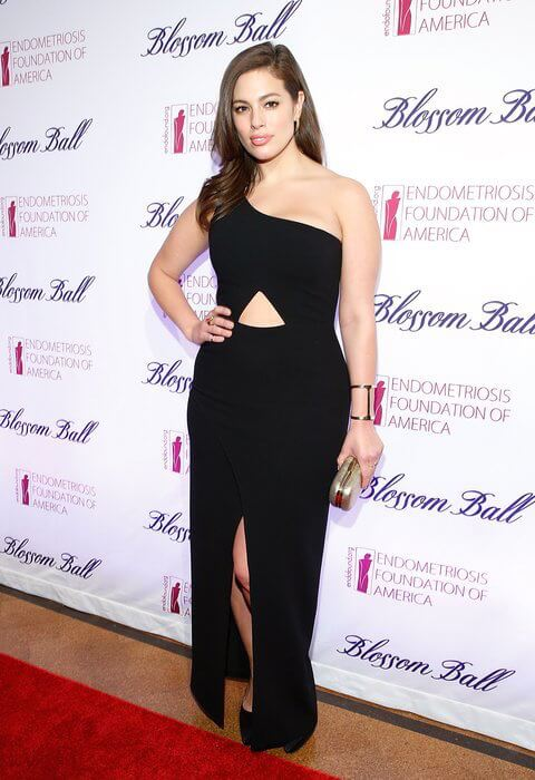 Ashley Graham at the 6th Annual Blossom Ball Benefiting Endometriosis Foundation Of America on March 7, 2015