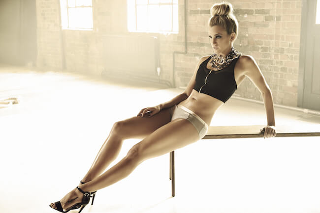 Ashley Roberts lean figure