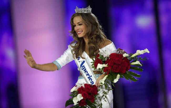 Betty Cantrell happy with her crown