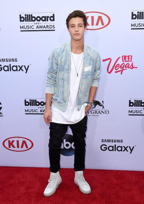 Cameron Dallas during 2015 Billboard Music Awards