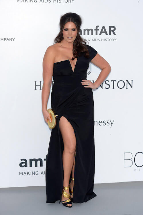 Candice Huffine at amfAR's 22nd Cinema Against AIDS Gala