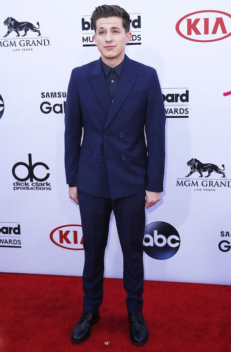 Charlie Puth during Billboard Music Awards 2015