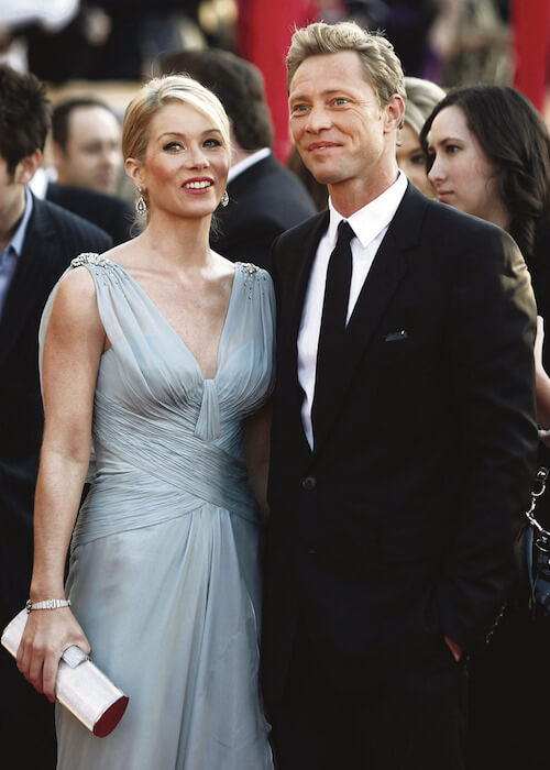 Christina Applegate and Martyn LeNoble