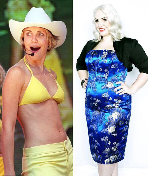 Claire Richards 'Before' & 'After' look