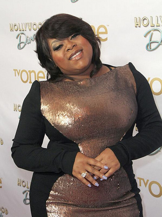 Countess Vaughn flaunting her body.