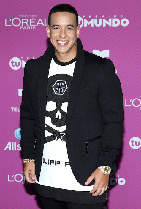 "Daddy Yankee at Telemundo's ""Premios Tu Mundo Awards"" on August 20, 2015 in Miami, Florida"