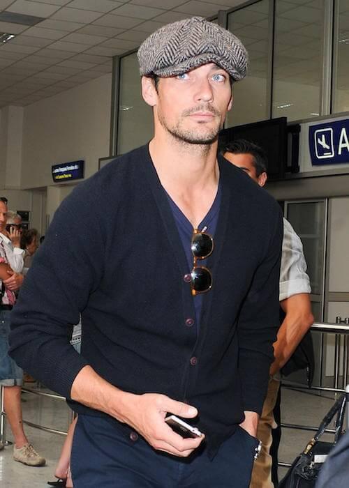 David Gandy outside The Martinez Hotel on May 20, 2015