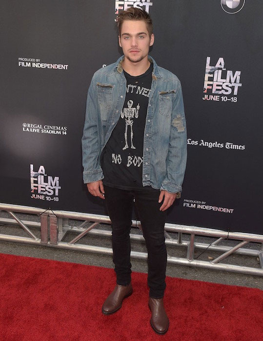 Dylan Sprayberry during 'Scream' premiere in 2015