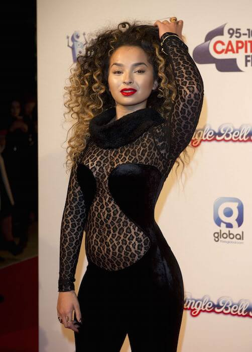 Ella Eyre during KIIS FM's Jingle Bell Ball Day 2 Event in London in December 2014