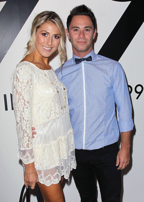 Emma Slater and Sasha Farber during the All In For The 99% event