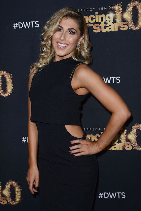 "Emma Slater with ""Dancing with the Stars"" cast party at Hyde Lounge in Los Angeles March 2015"