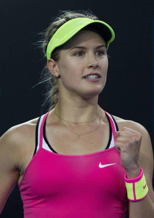 Eugenie Bouchard at 2015 Australian Open