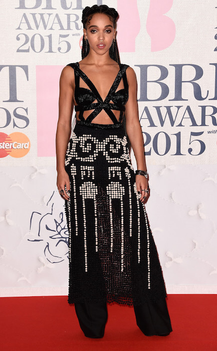 FKA Twigs during BRIT Awards 2015
