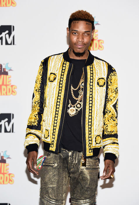 Fetty Wap in the press room during 2015 MTV Movie Awards