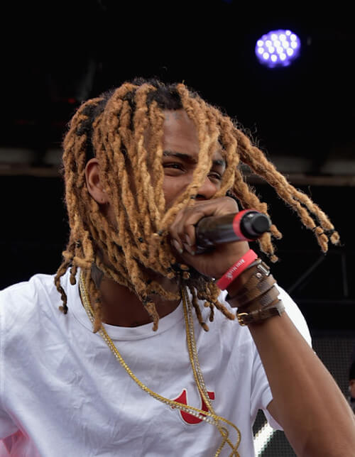 Fetty Wap performing during Billboard Hot 100 Festival Day 2 in 2015