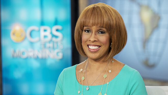 Gayle King appears in the CBS This Morning