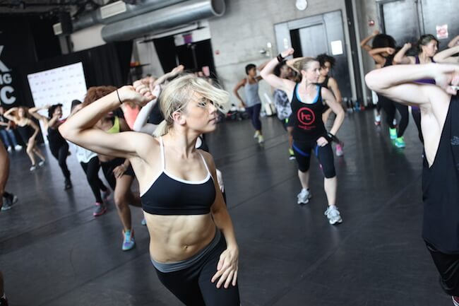 Hard Candy Fitness Club Workout Picture