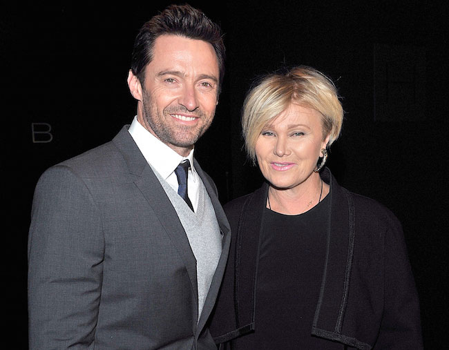 Hugh Jackman and Deborra Lee-Furness