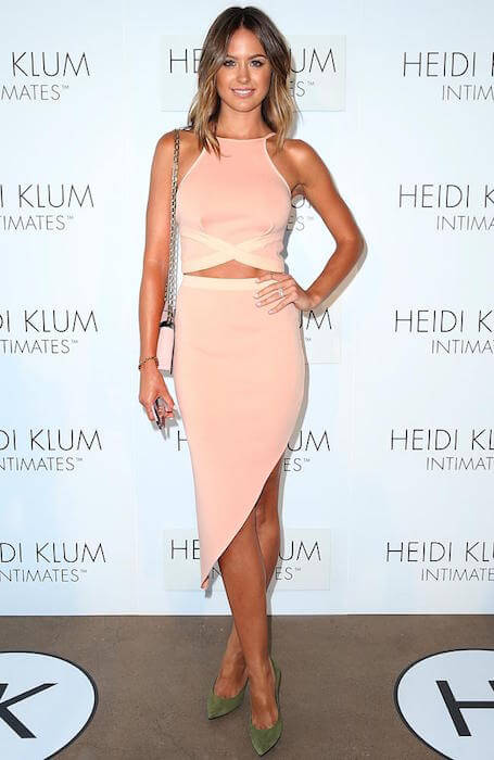 Jesinta Campbell at the Heidi Klum underwear launch 2015