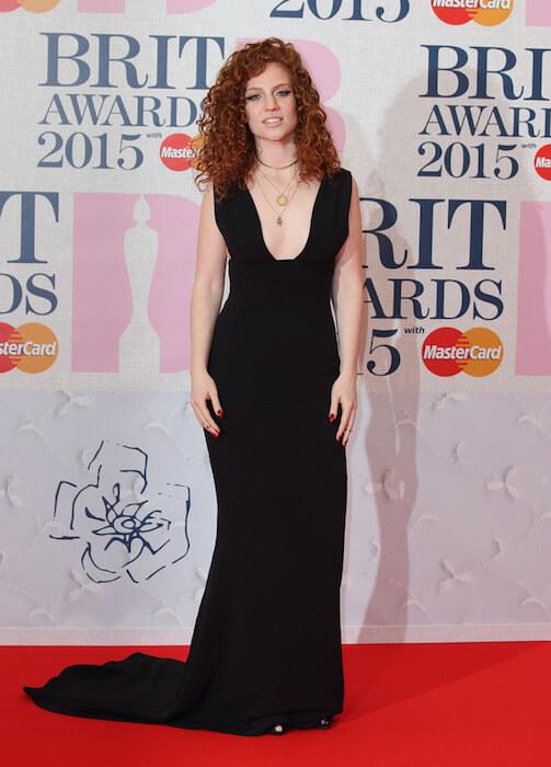 Jess Glynne at Brit Music Awards 2015