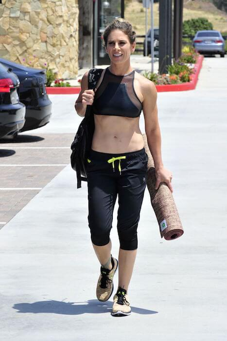 Jillian Michaels after a workout in Malibu on July 2, 2015
