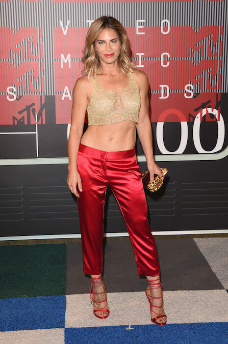 Jillian Michaels at the 2015 MTV Video Music Awards in Los Angeles, California on August 30, 2015