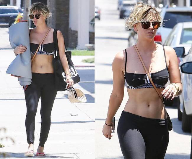 Kaley Cuoco Sweeting 2015 Workout Routine And Diet Secrets Healthy Celeb