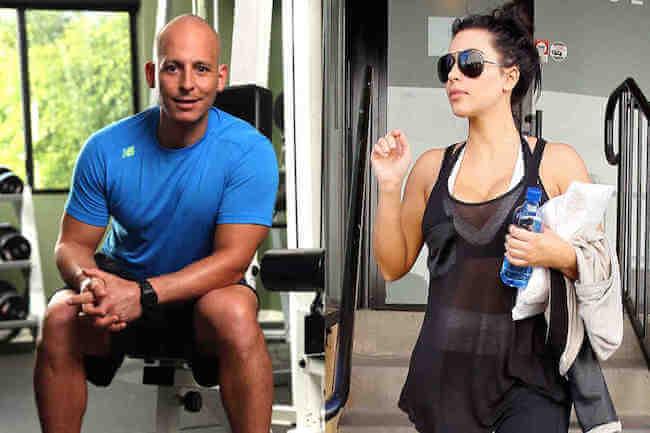 Kim Kardashian trainer, Harley Pasternak