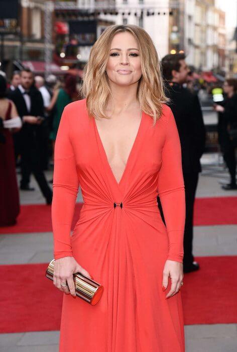 Kimberley Walsh at 2015 Olivier Awards in London