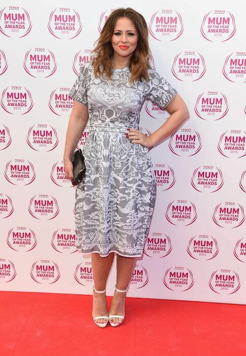 Kimberley Walsh during 2015 Tesco Mum of the Year Awards in London