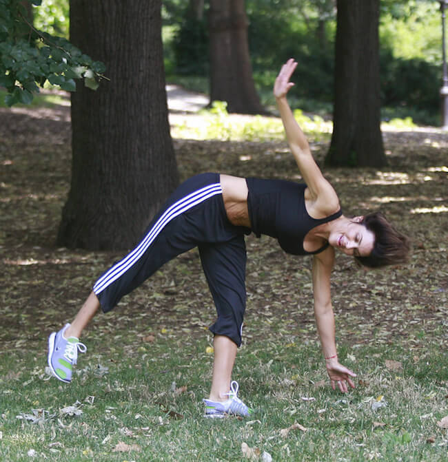Lisa Rinna workout