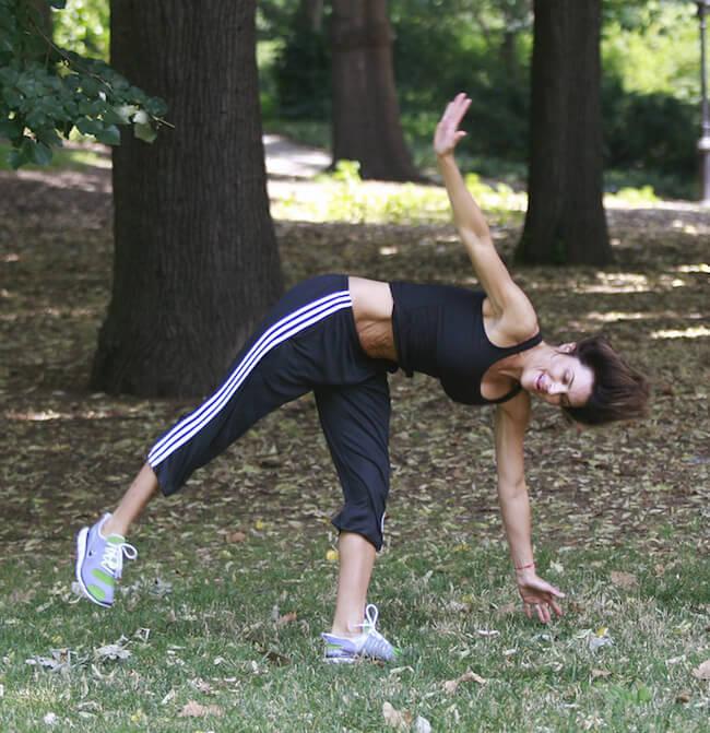 Lisa Rinna workout