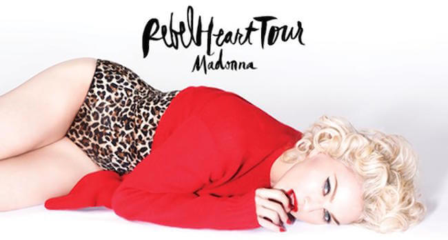 Madonna cover for Rebel Heart Tour