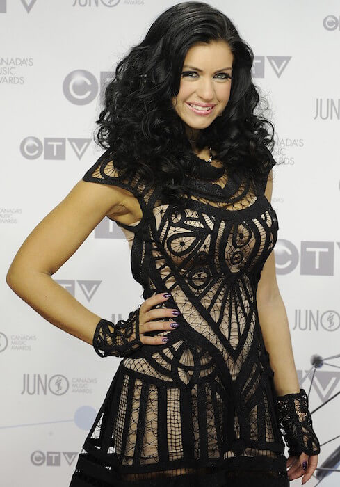 Mia Martina at the 2012 Juno Awards