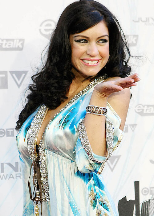 Mia Martina attends the 2011 Juno Awards