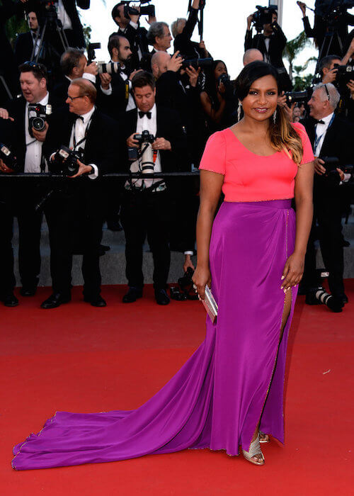 Mindy Kaling at Cannes 2015