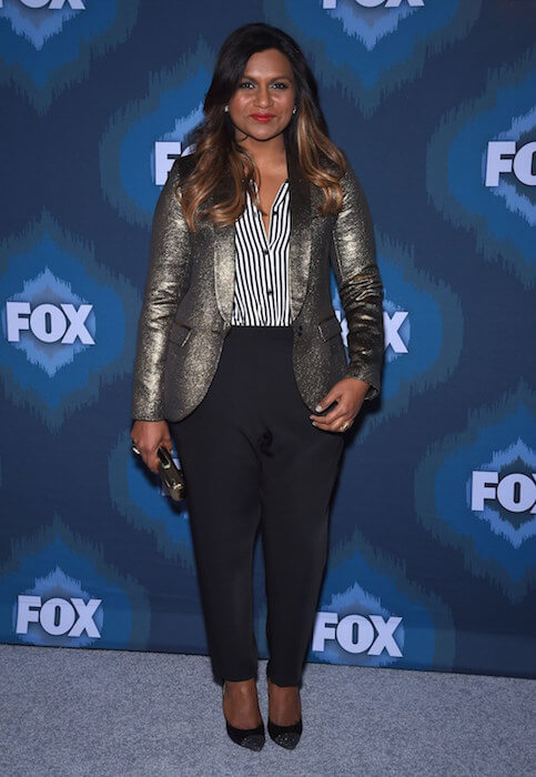 Mindy Kaling attends 2015 FOX Winter Television Critics Association All Star Party