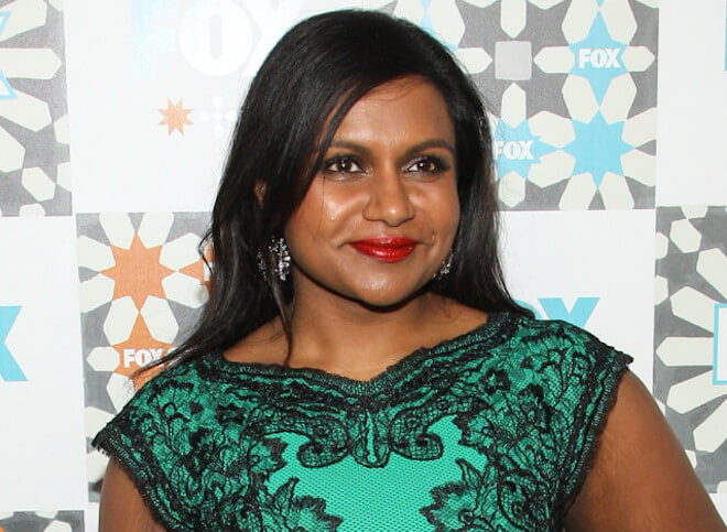 Mindy Kaling close up