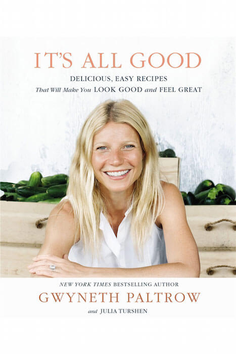 "Mindy Kaling's food inspirations come from this book by Gwyneth Paltrow, ""It's All Good."""